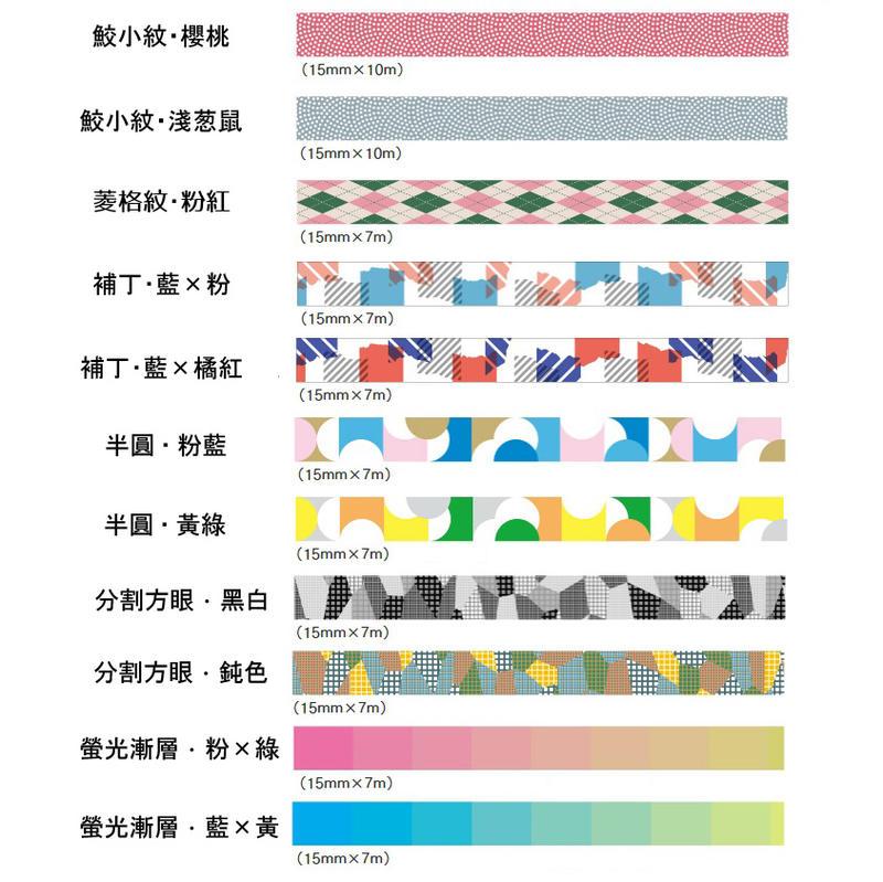 【莫莫日貨】現貨 全新 2020SS mt deco 系列 日本進口 和紙膠帶 (全11款)