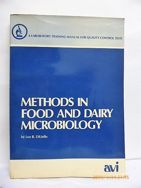 Methods in Food and Dairy Microbiology 食品和乳製品微生物學 A4