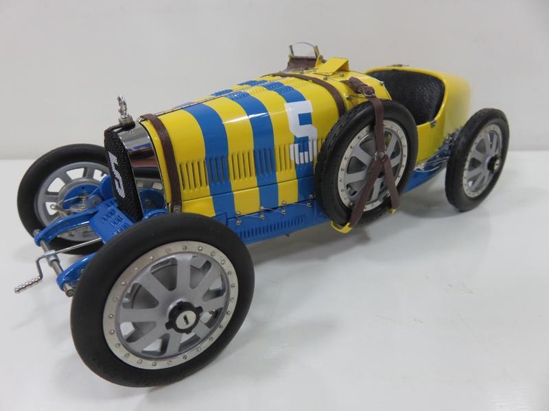 宗鑫貿易 CMC M100-011 Bugatti T35 1924 Nation Project 瑞典塗裝
