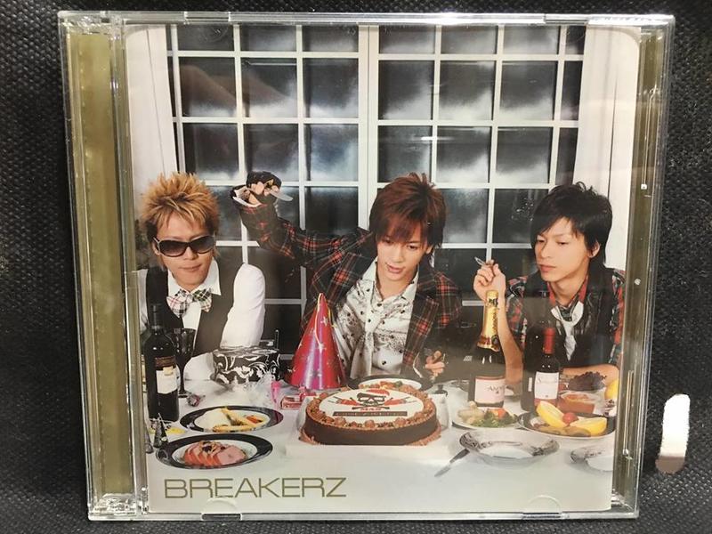 自有收藏 日本版 BREAKERZ 破曉樂團 Winter Party 初回限定盤 單曲CD+DVD