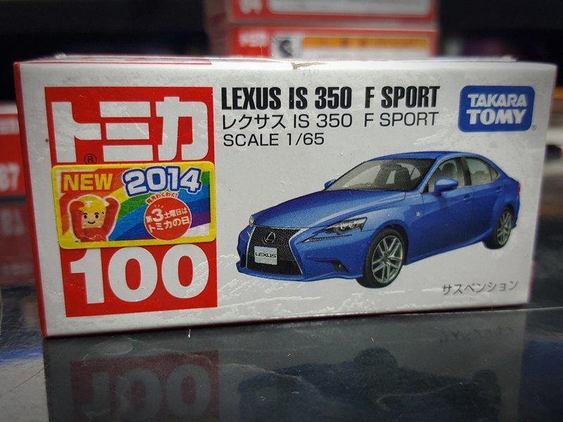 出售 - TOMICA 多美小汽車 No.100 Lexus IS 350 F Sport