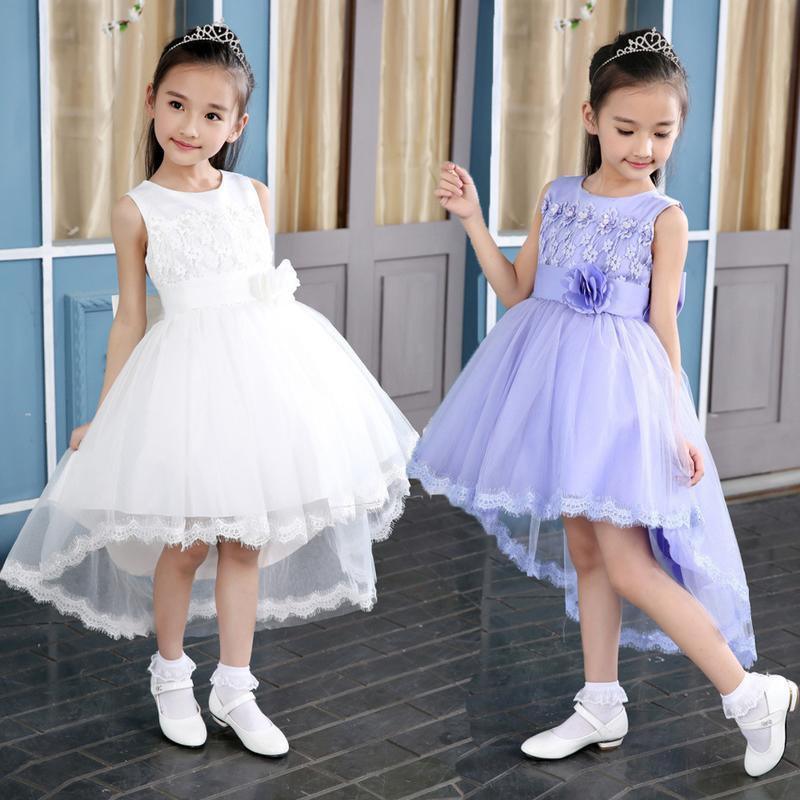 4女童禮服5童裝6兒童禮服女8夏季9公主裙10蓬蓬生日無袖12連衣裙