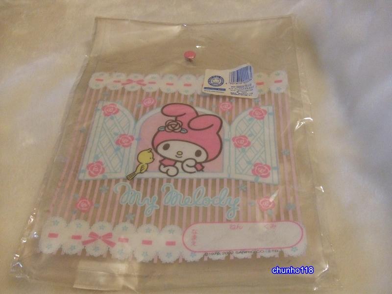 ☆╮超 CUT 全新╭☆ 日本SANRIO meloDY 花朵系列收納袋(431)***2002年(已絕版)
