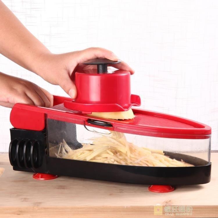 家用土豆絲切絲器多功能切菜蘿卜擦絲土豆片切片刨絲神器廚房用品