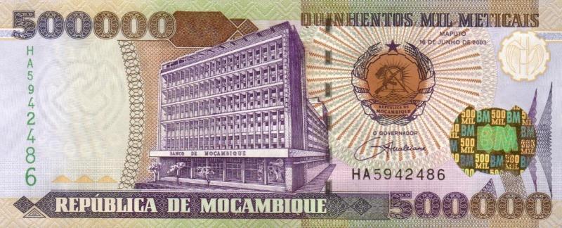 莫三比克-2003年500000元