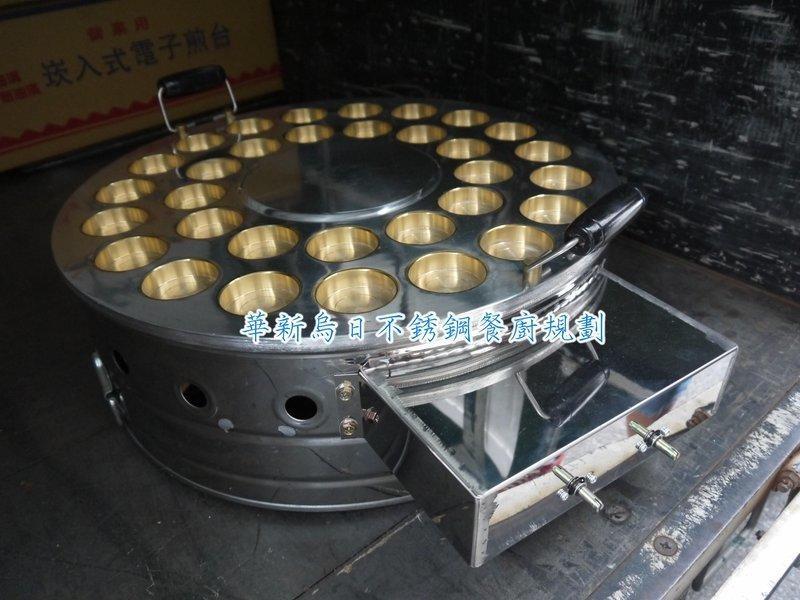 全新 電子式 圓形 32孔 紅豆餅爐 食品機械 另有吧台 封口機 果糖機 截油槽