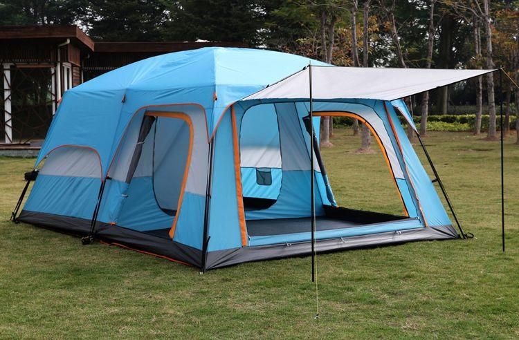 最新改款 駱駝 雙房一廳 2房1廳 二房一廳 三房 8~10人 大帳篷 帳棚 露營 客廳帳 帳蓬 休閒帳篷