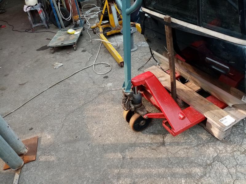 二手 油壓拖板車