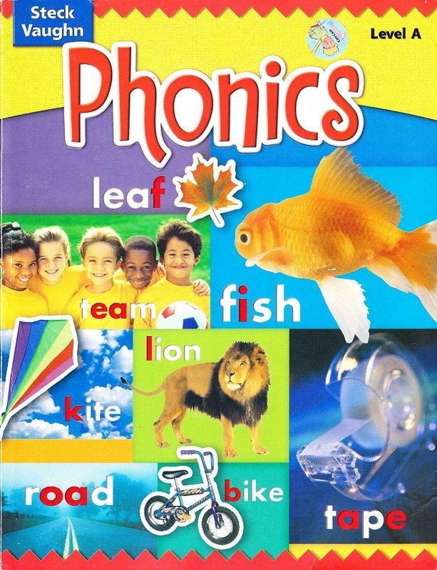 《Phonics: Level A》ISBN:0739891359│Raintree│Various│九成新