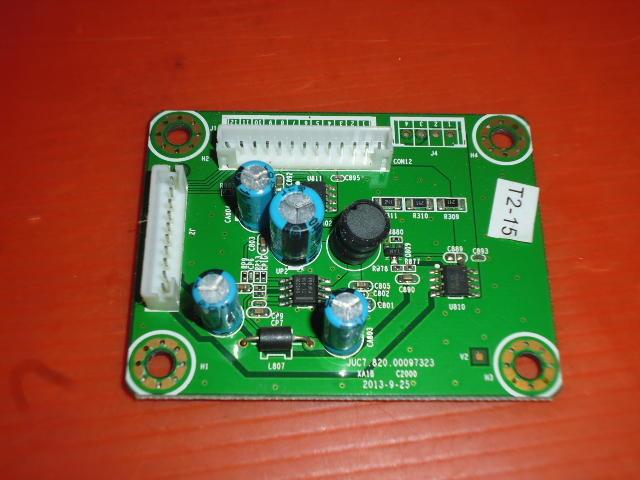 液晶電視維修零件板便宜賣很大副電源板HERAN HD-50DF1-50吋面板破屏拆賣100元