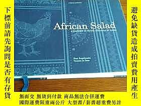 古文物英文原版:African罕見Salad a portrait of South Africans at home(