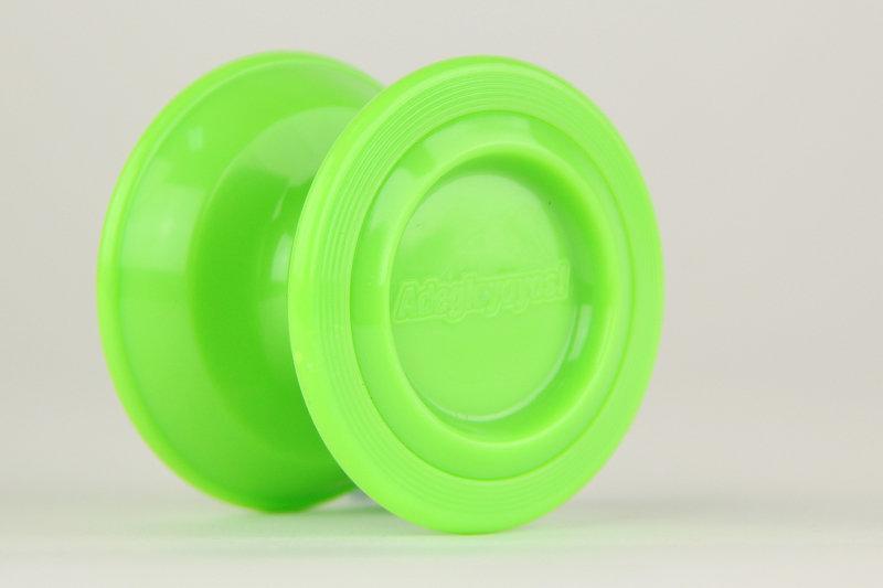 Asteroid 小行星 螢光綠 競技 初學 教學 教材 國產 耐衝擊 塑膠 溜溜球 奇妙 yo-yo