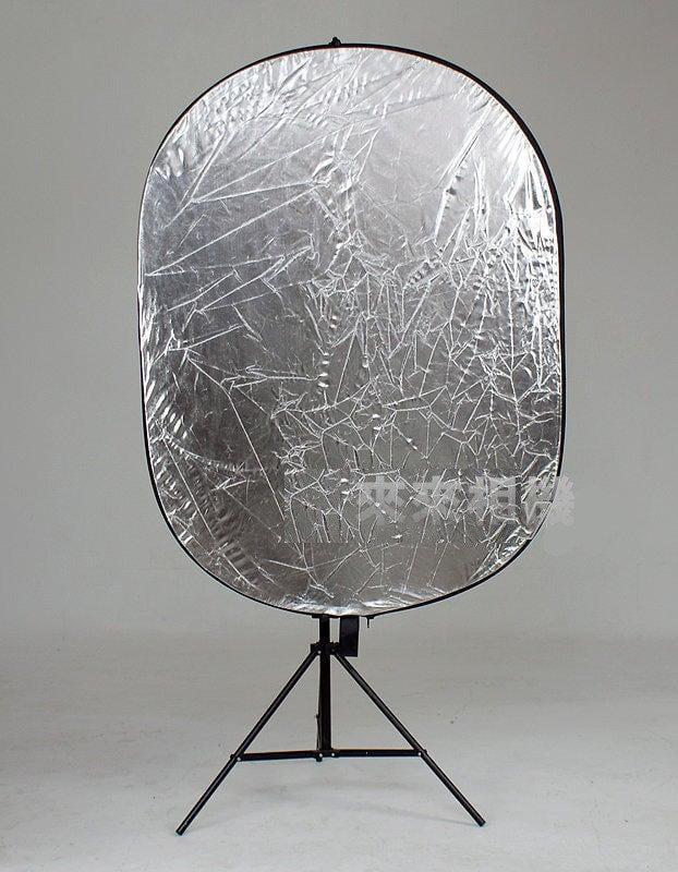 來來相機 90X120CM 橢圓形五合一反光板(白,金,銀,黑,柔光)