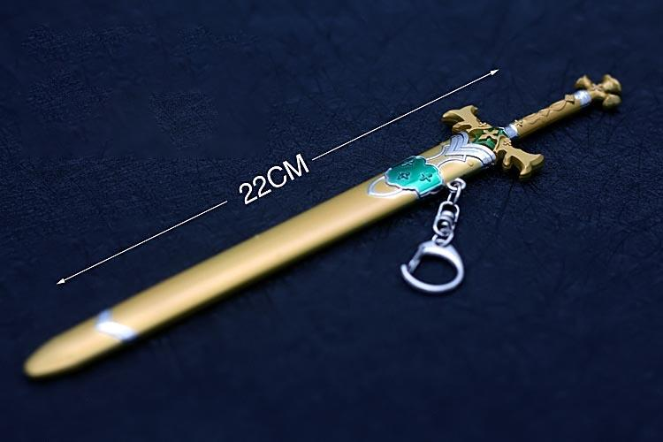 刀劍神域金木犀劍 22cm(長劍配大劍架.此款贈送市價100元的大刀劍架)