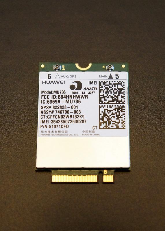 華爲 Huawei MU736 NGFF WWAN 模塊 3G/4G卡 GPS卡 HSPA+