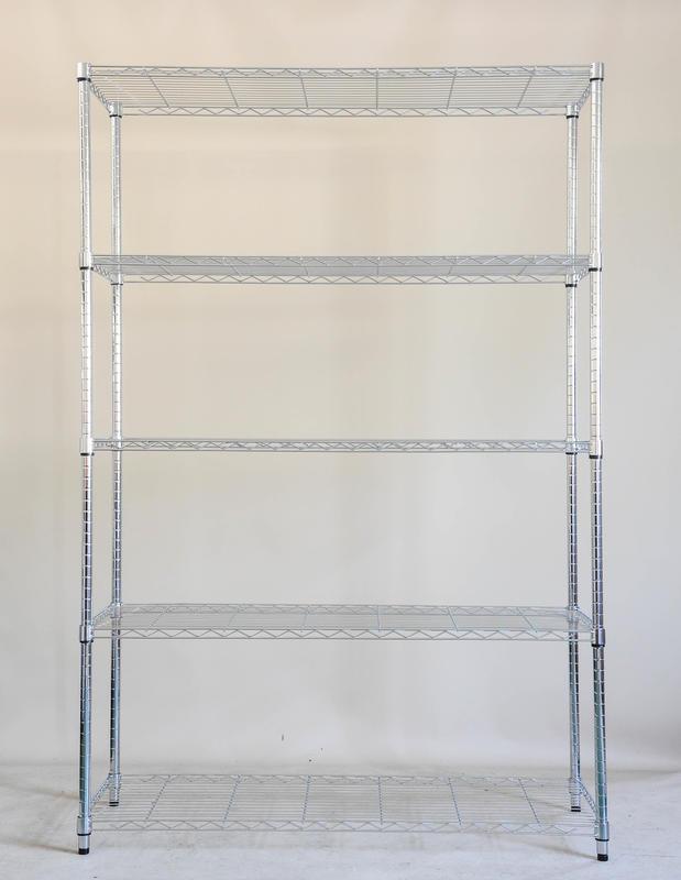 【鐵架工場】輕型120x35x180公分六層鐵架~收納架~置物架~波浪架~鐵力士架~物料架~衣物架~移動推車