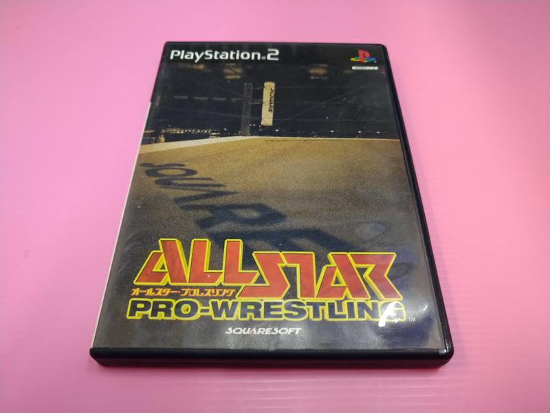 格 出清價! 網路最便宜 PS2 2手原廠遊戲片 全明星職業摔角  All Star Pro Wrestling 賣50