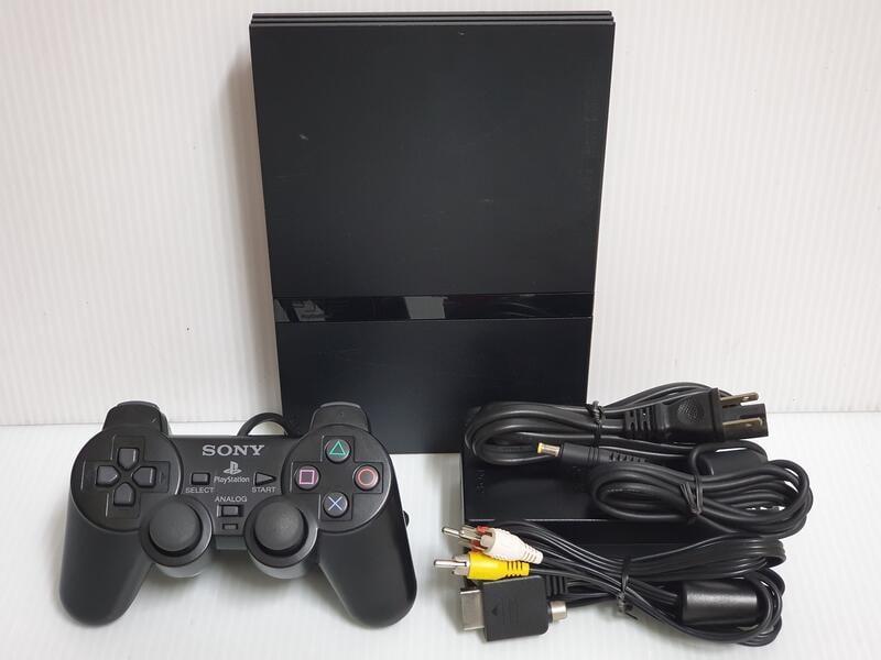 {哈帝太郎}~PS2 遊戲主機 SCPH-70006 已改機 可讀原版與台片 功能正常良好~下標就賣!