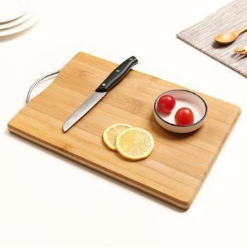 家用廚房案板切菜板竹方形粘板小號實木防霉切板面板菜板水果砧板