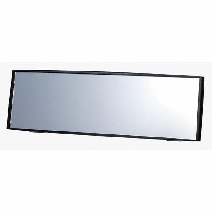 車資樂㊣汽車用品【M1】日本CARMATE 3000R緩曲面黑框車內後視鏡 高反射鏡 240mm