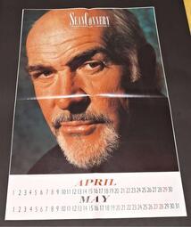 【南傑克商店街】/『書報攤』/對折明星海報/Sean Connery史恩康納萊