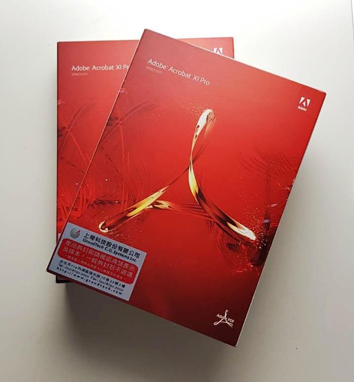 Adobe Acrobat XI Pro 專業中文版 For WindowsPC  全新盒裝公司貨