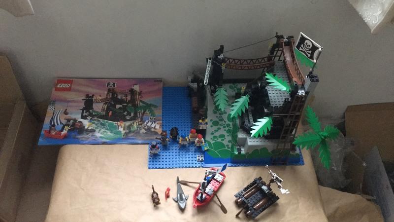 樂高 Lego 6273 海盜基地