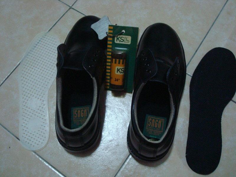 ☆零度空間☆ 百得 安全鞋(鞋帶式)(黑色)