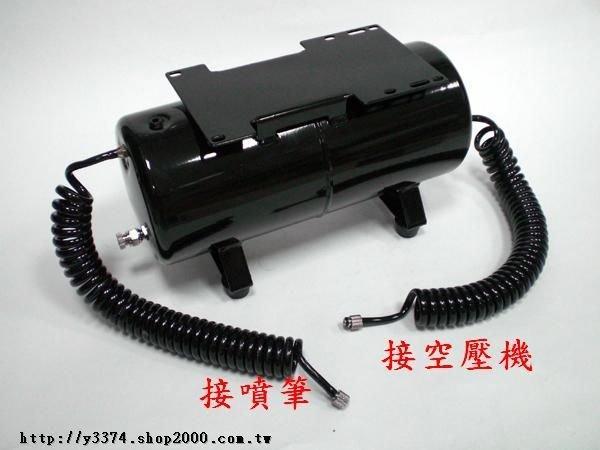 DIY改裝套件-3.5公升鋼瓶(含進出氣PU管)