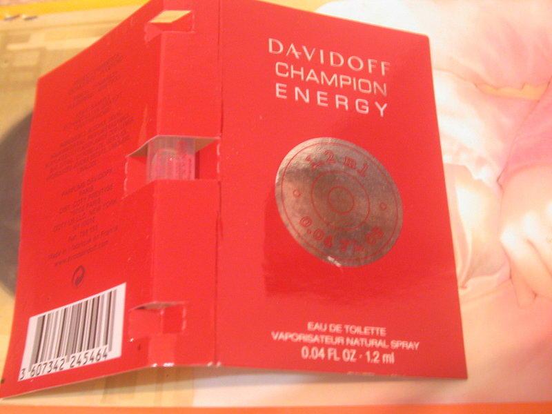 【妹妹的店】Davidoff Champion Energy 淡香水 1.2ML
