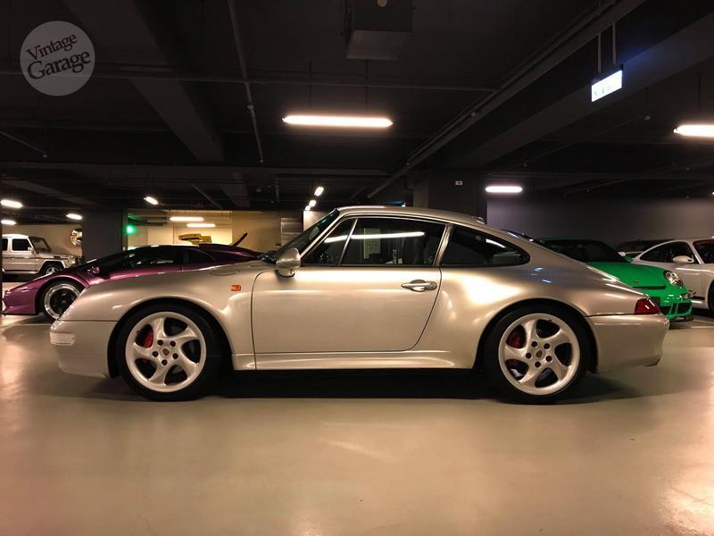 老車庫售://已售出//1996 Porsche 993 Carrera S 日規正牌