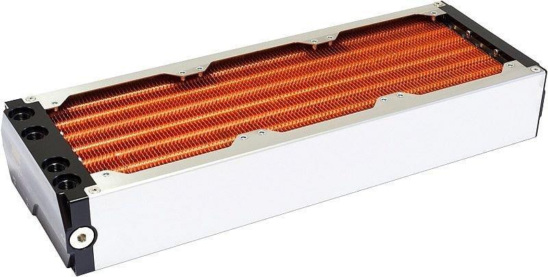 [水冷散熱]德國Aqua Computer AMS雙迴路模組化水冷排 (360全銅型)