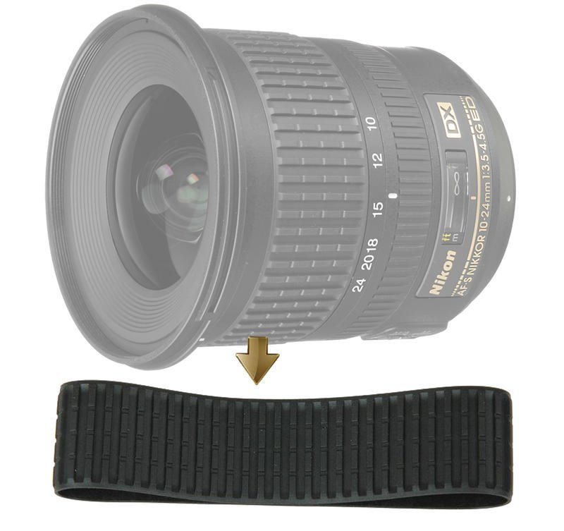 Zoom Rubber Ring for Nikon 10-24mm F3.5-4.5G 變焦環 變焦皮