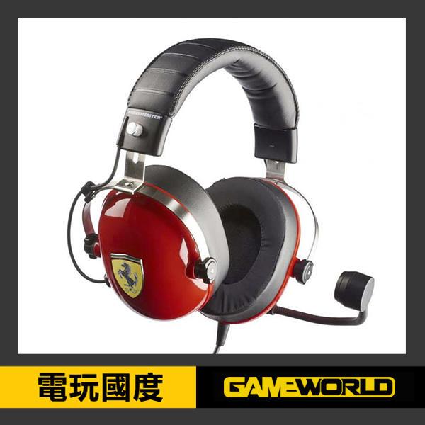 【限量特仕版】TM 法拉利版 耳機 T.Racing Scuderia Ferrari Edition ※ 【電玩國度】