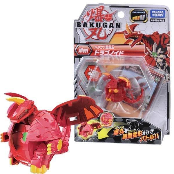 非戰鬥陀螺-爆丸BP-001 基本爆丸Dragonid RED 現貨