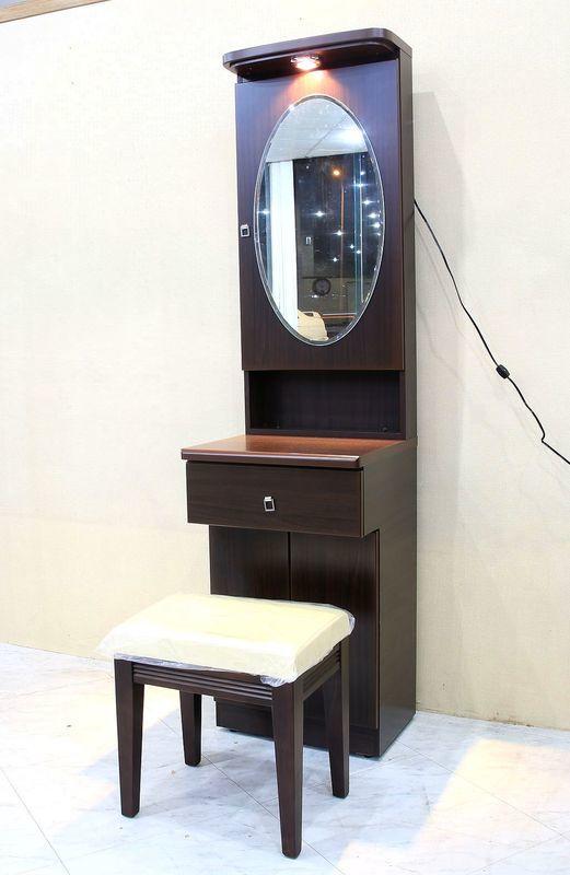 【歐風別館】溫蒂1.5尺胡桃木化妝台【基隆至台中免運費】