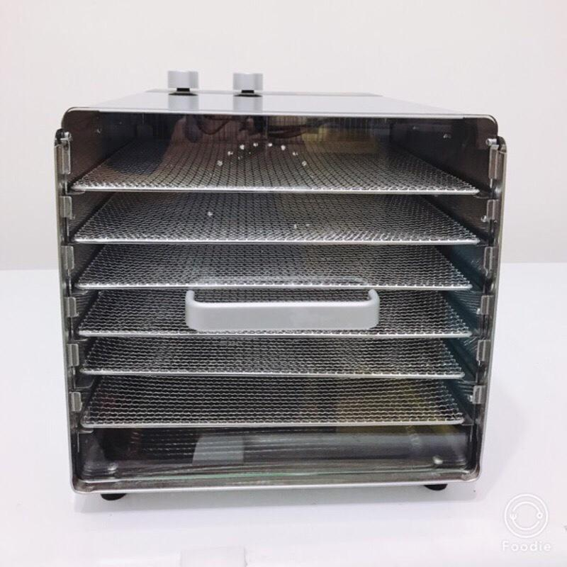 心馳Septree六層風力加強版不銹鋼食物烘乾機 最新款高品質風乾機烘乾機食品乾果機 蔬菜脫水機 食物乾燥機 心馳