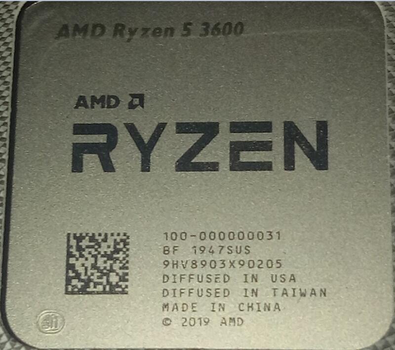"""""""現貨1-3年保""""R5 3600 R5 3500X R7 3700X R5 3600X AMD Ryzen 5 3600"""