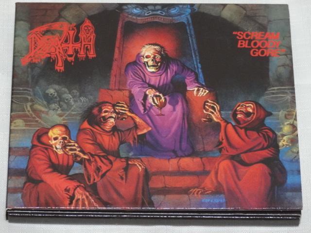 [老學校音樂館] Death - Scream Bloody Gore 德版