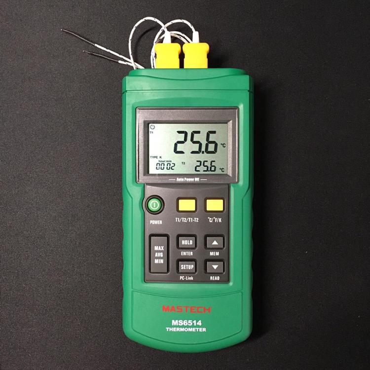 《現貨》MS6514 MS-6514 溫度計 咖啡/烘豆/USB/Artisan/rf-300/quest m3