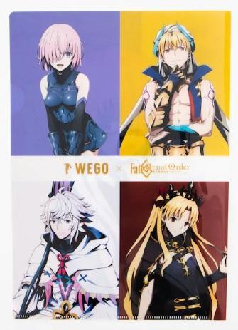 Fate Grand Order 絕對魔獸戰線巴比倫尼亞 x WEGO合作 資料夾/徽章 賢王/瑪修/艾蕾/FGO
