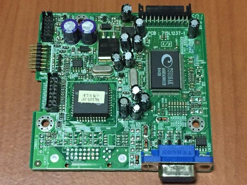 原廠 acer 宏碁 19吋 AL1914 sm PCB : 715L1237-1 驅動板