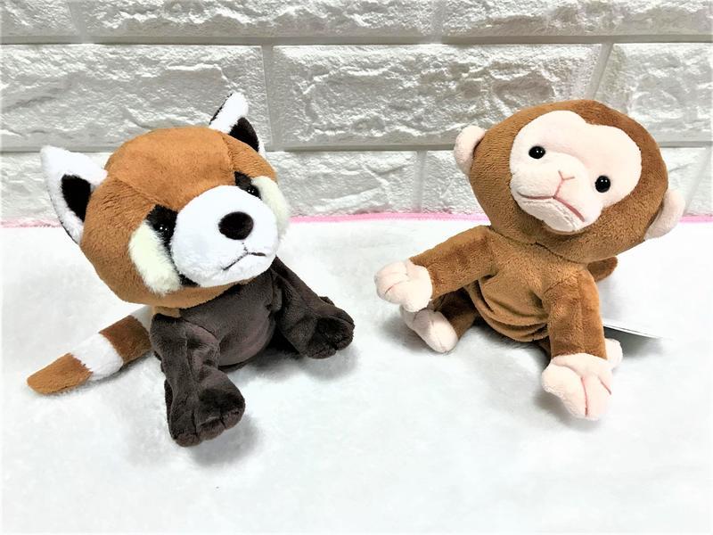 【SHINADA】日本 古塔坦 KUTAMTAM 猴子 浣熊 可愛 毛絨 動物 娃娃 玩偶
