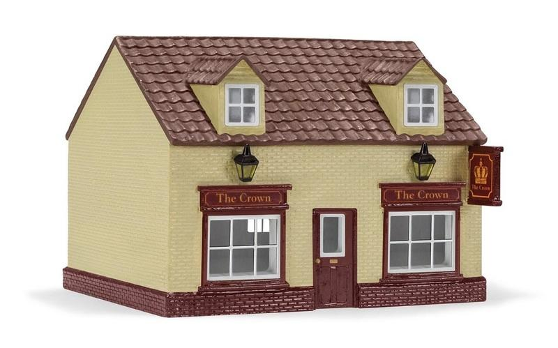 現貨 Hornby R9860 HO規 The Crown Public House 王冠酒店.完成品