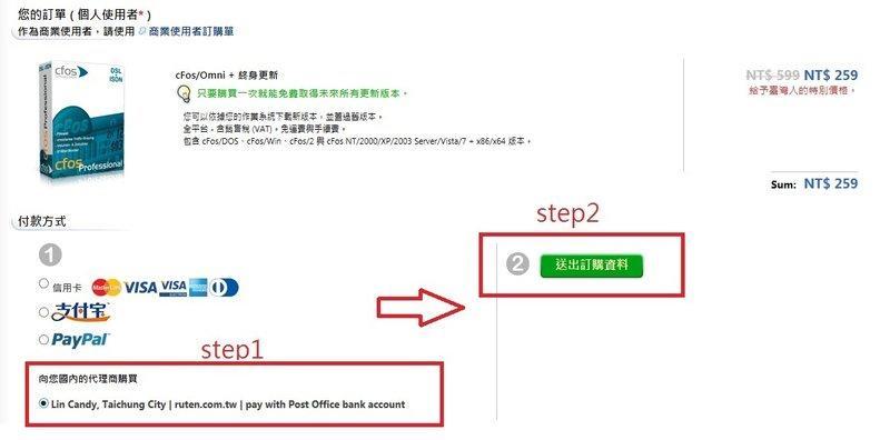 CFOS 官方台灣授權,正版保障