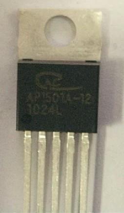 [二手拆機][含稅]1501A12【直插】 AP1501-12 降壓型DC/DC轉換器