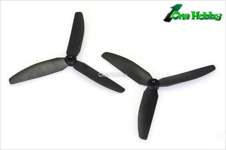 《One Hobby》GWS EP5030×3螺旋槳(反槳二支裝)中心孔徑3mm
