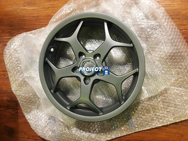 【ProjectA】全新 PIAGGIO MP3 13吋輪框兩顆 銀 新品 VESPA 出清