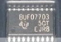 [二手拆機][含稅]BUF07703 液晶電源晶片