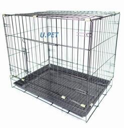 〔優寵物〕2尺活動折疊式/褶疊式〔黑色底盤〕〔密底腳踏網〕靜電粉體烤漆.狗籠.貓籠.兔籠.寵物籠.犬狗用品/台灣製造